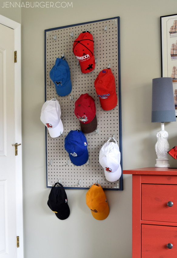 baseball cap holder