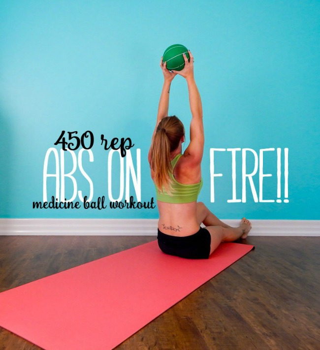 450 rep abs on fire