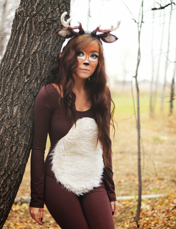 deer costume tutorial
