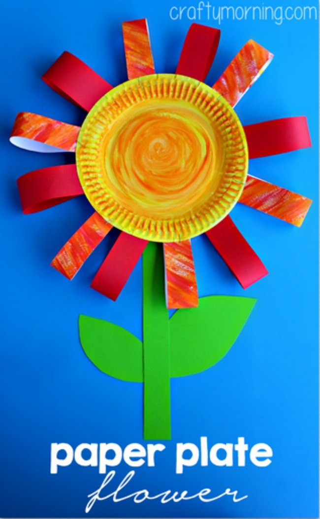 Paper Plate Crafts  sc 1 st  Pinned and Repinned : paper plate crafts for spring - pezcame.com
