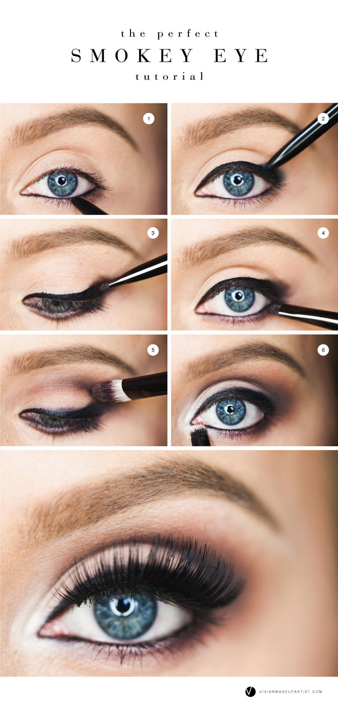 Top 10 makeup tips and tricks pinned and repinned the perfect smokey eye tutorial by vivian makeup artist the essential steps to create a gorgeous smokey eye thats perfect for a night on the town baditri Images