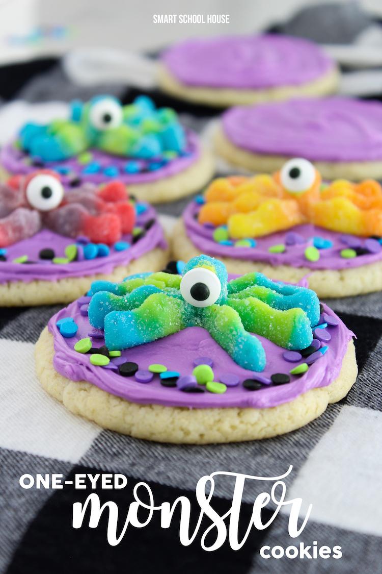 One Eye Monster Cookies