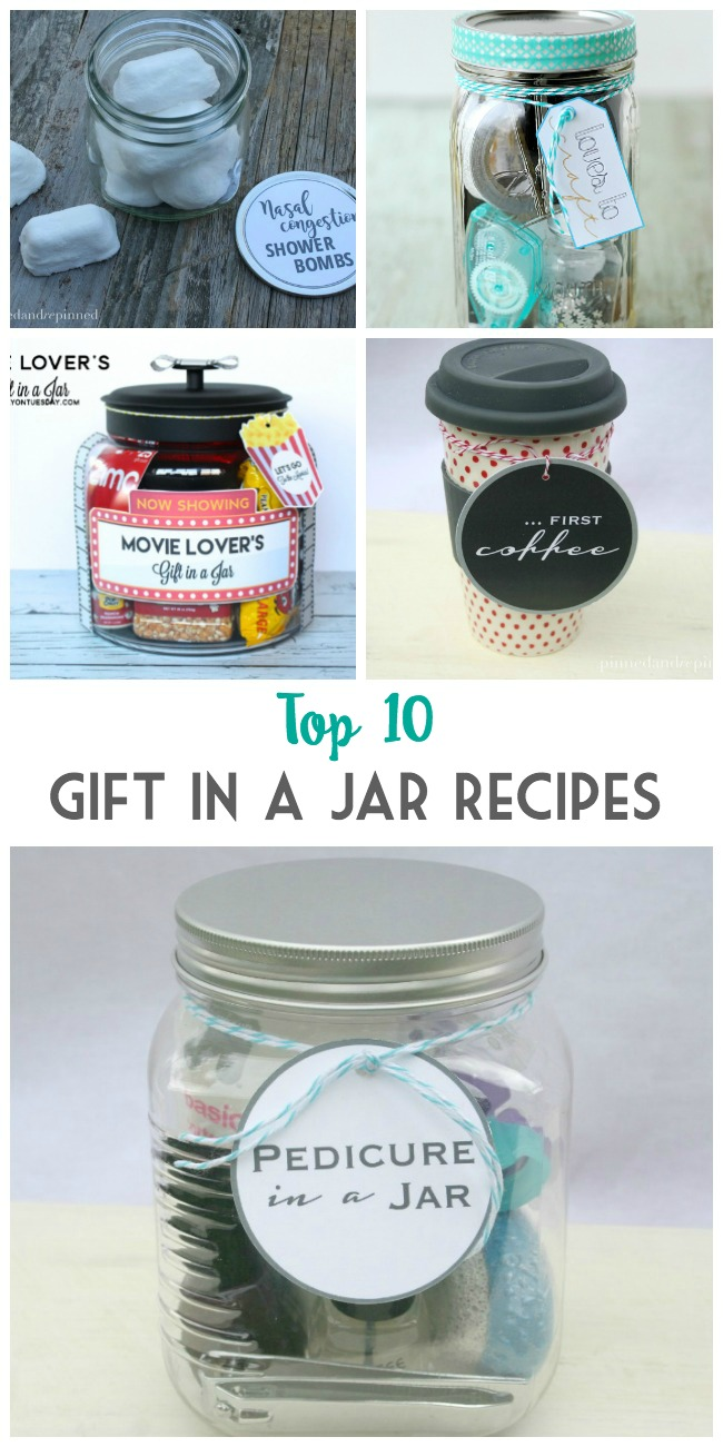 Top 10 gift in a jar recipes pinned and repinned for Homemade gifts in a jar for men