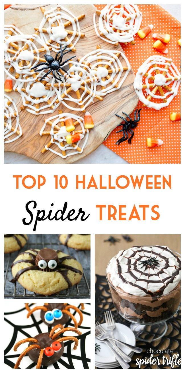 top 10 halloween spider treats