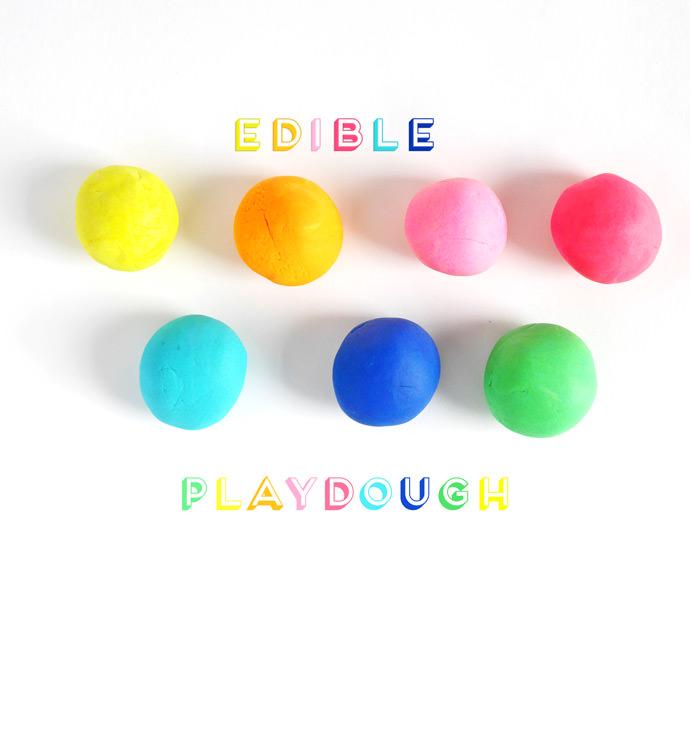 diy edible playdough