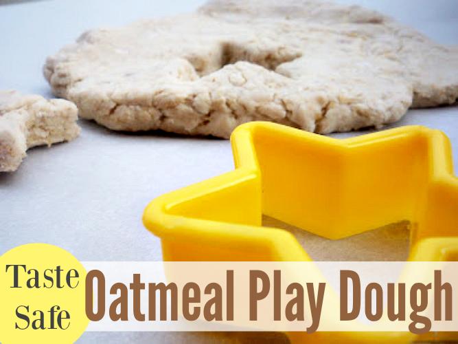 oatmeal play dough