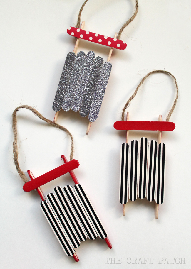 Top 10 christmas popsicle stick crafts for kids pinned for Popsicle stick picture frame christmas