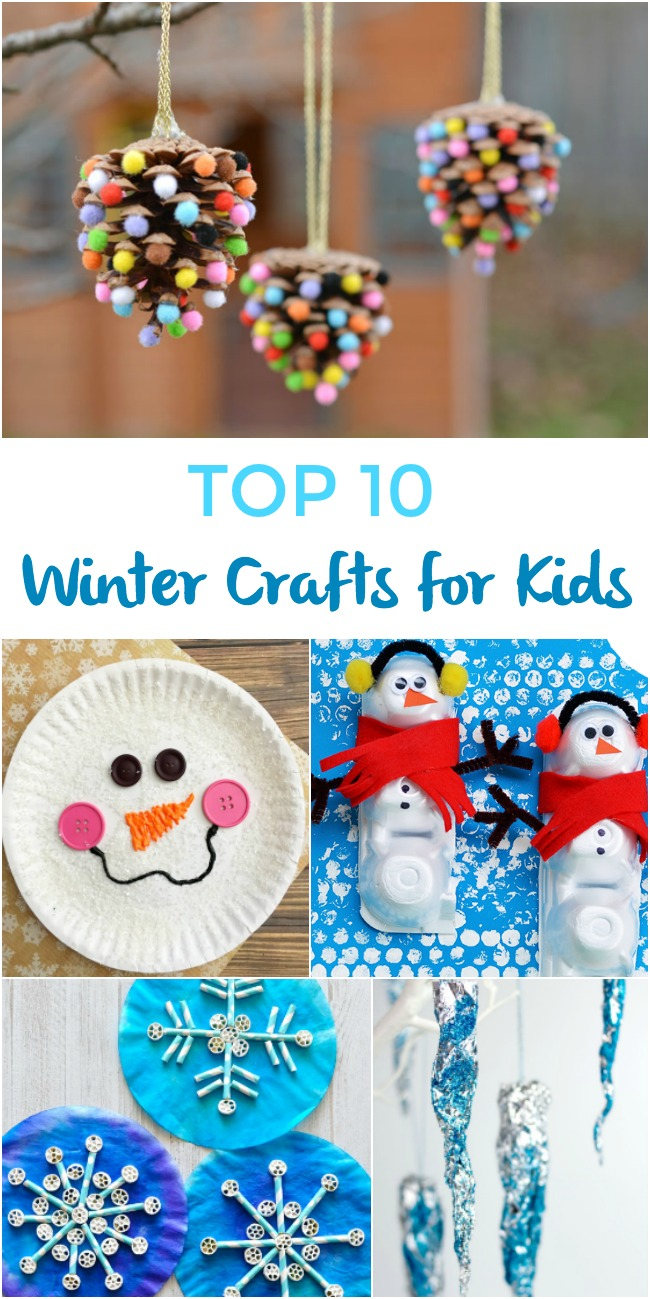 Top 10 Winter Crafts for Kids
