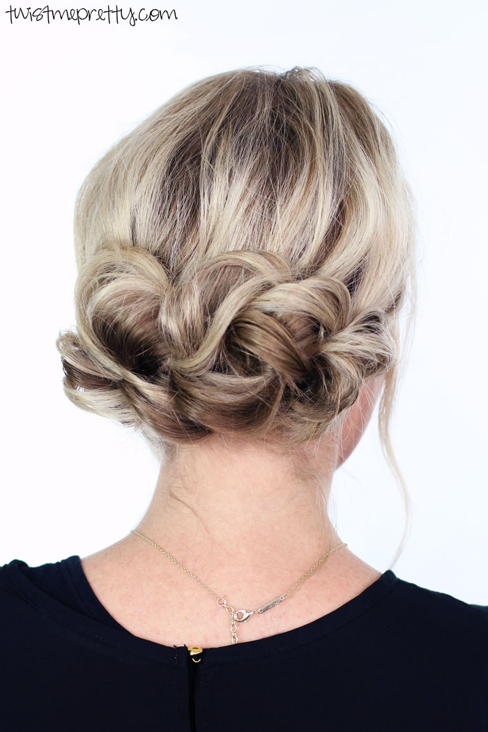 holiday updo