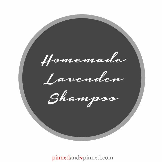 lavender shampoo tag