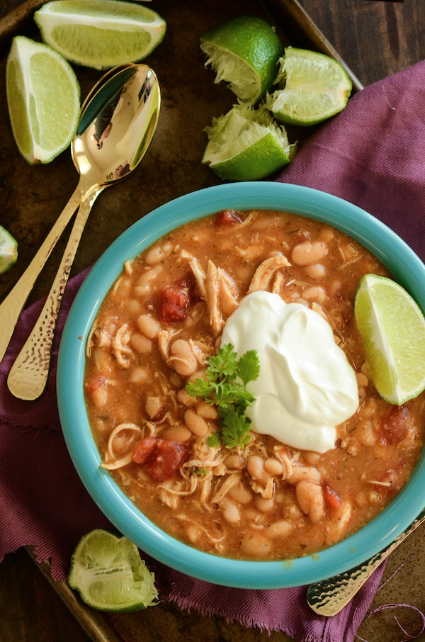 taco ranch chicken chili
