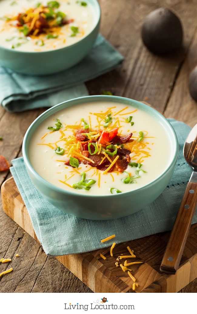 baked potato pressure cooker soup
