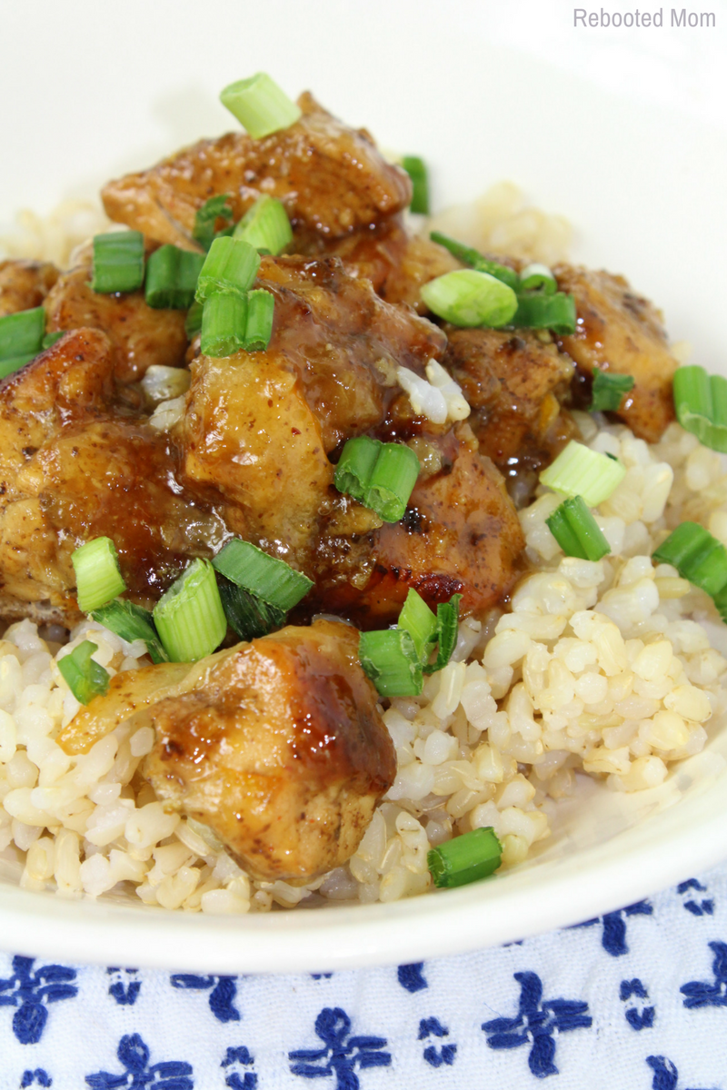 instant pot orange chicken