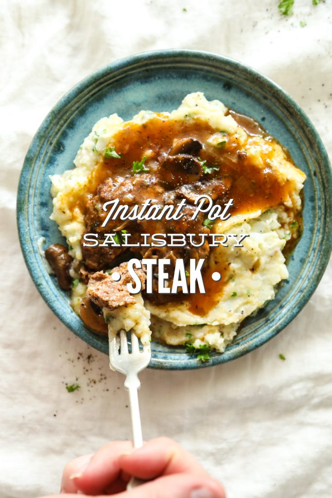 salisbury steak instant pot