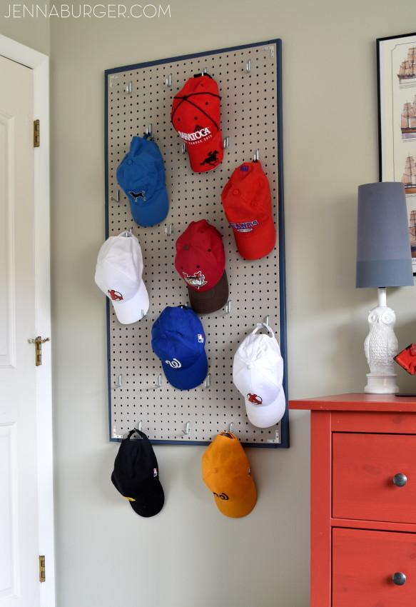 baseball cap holder