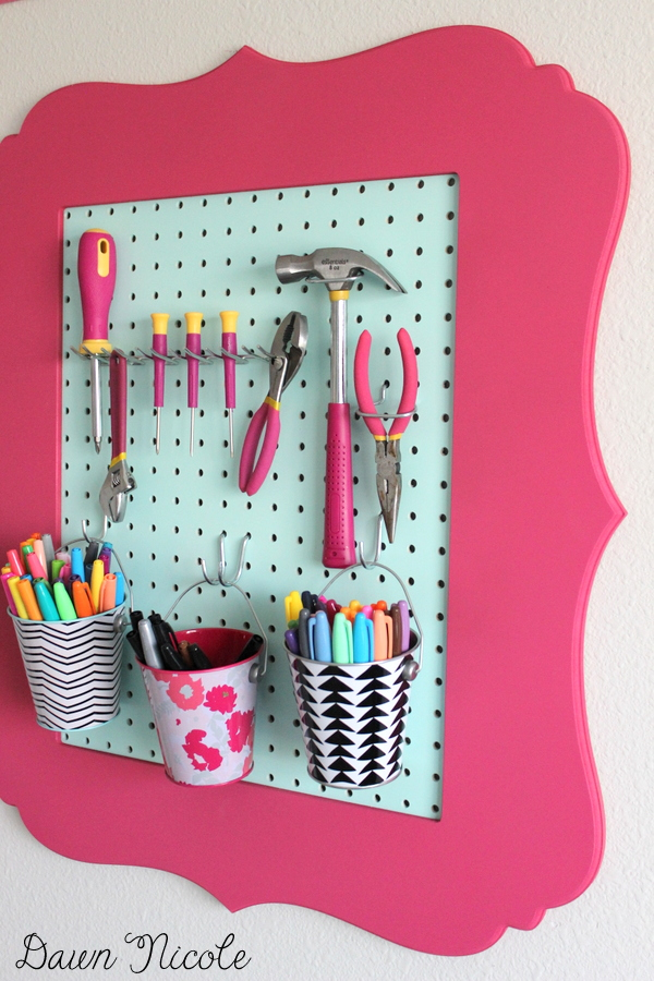Turning-Frames-into-Craft-Room-Organizers-6