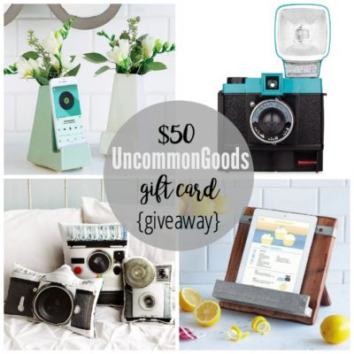 $50 UncommonGoods Giveaway! {perfect for holiday shopping} CLOSED