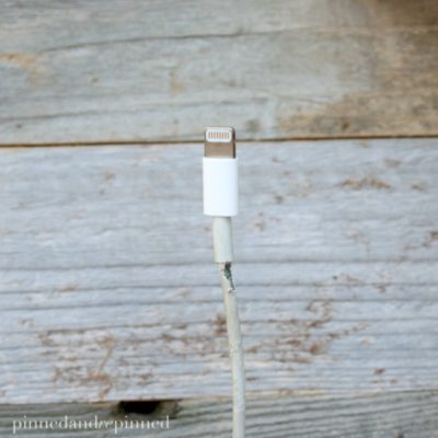 Easiest Hack to Prevent or Fix Frayed Lightning Cables