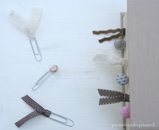 ribbon bookmark a