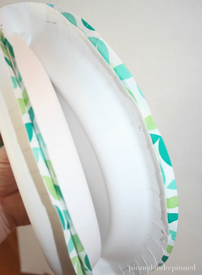 staple paper plates