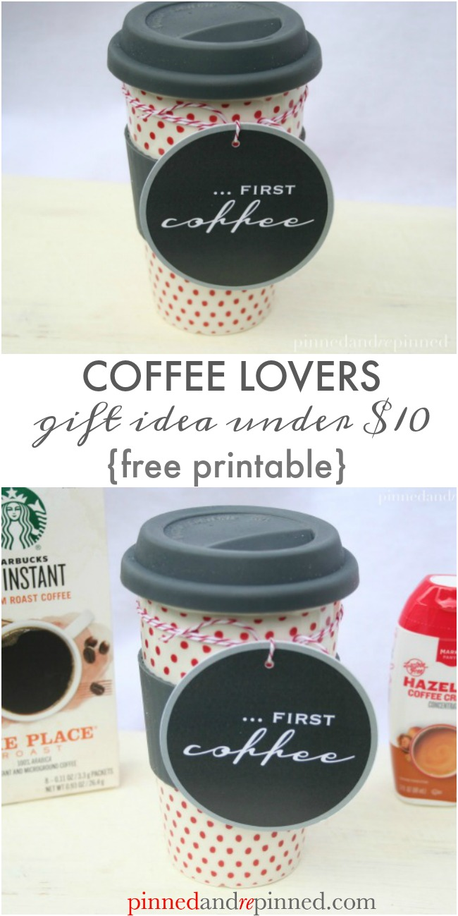 coffee lovers gift idea under $10
