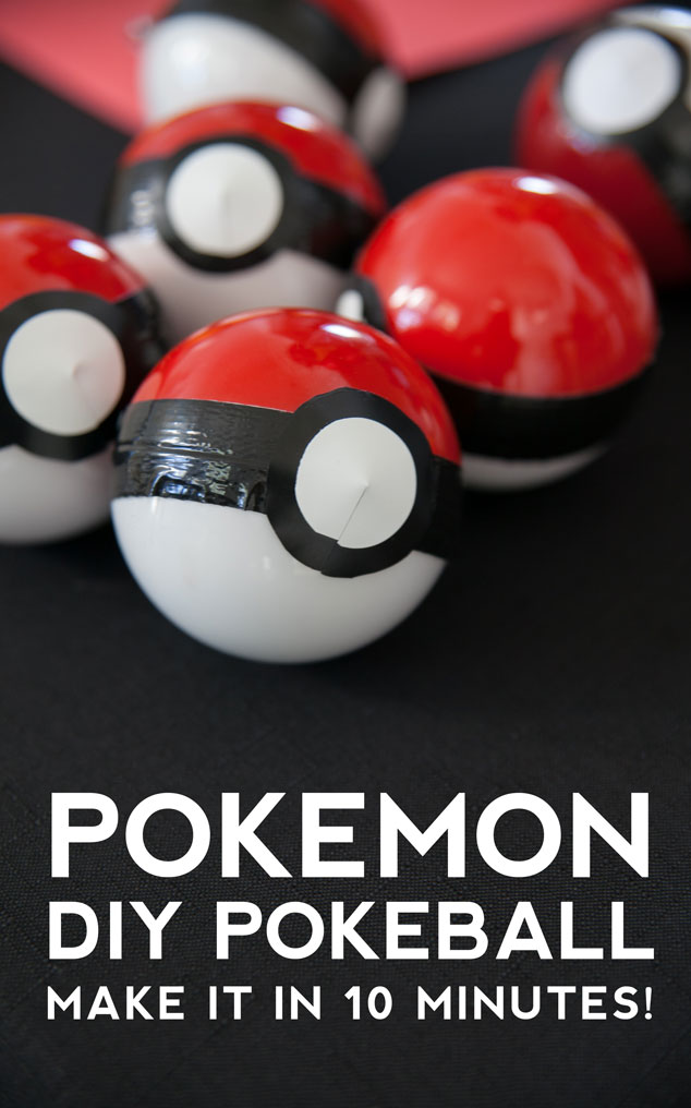 DIY Pokemon Party Favor