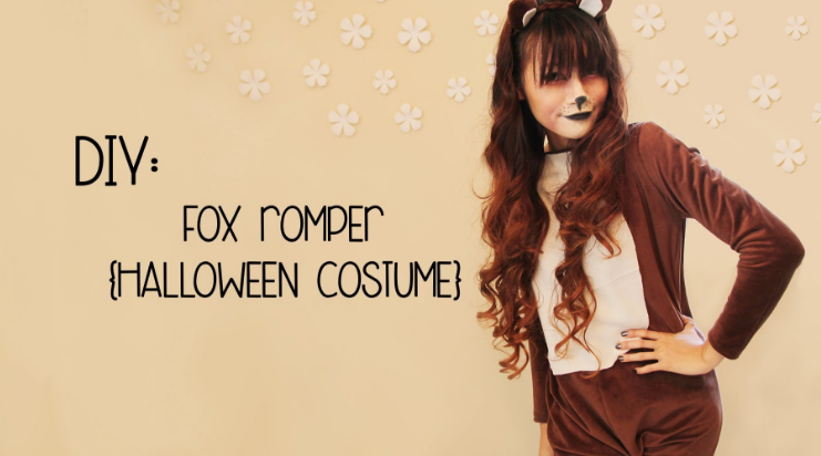 fox costume video