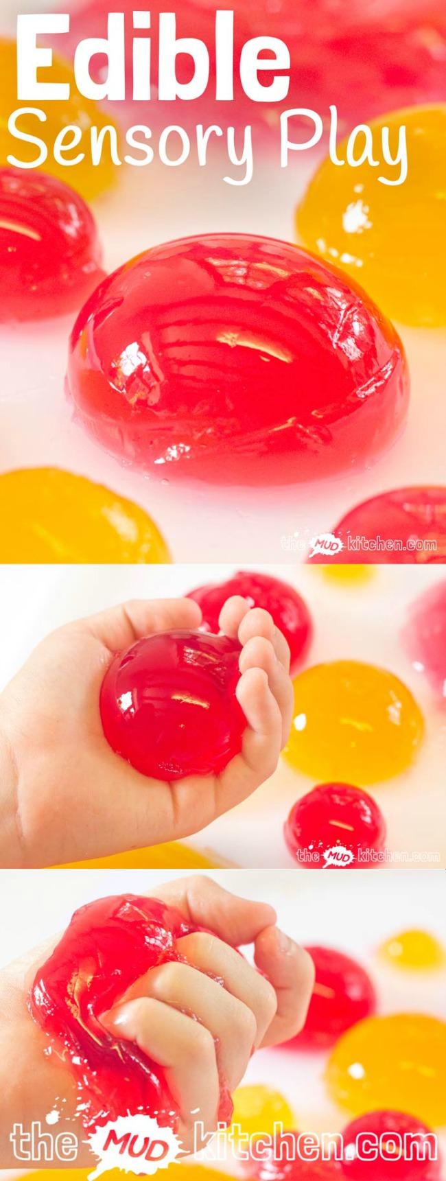 Edible sensory balls