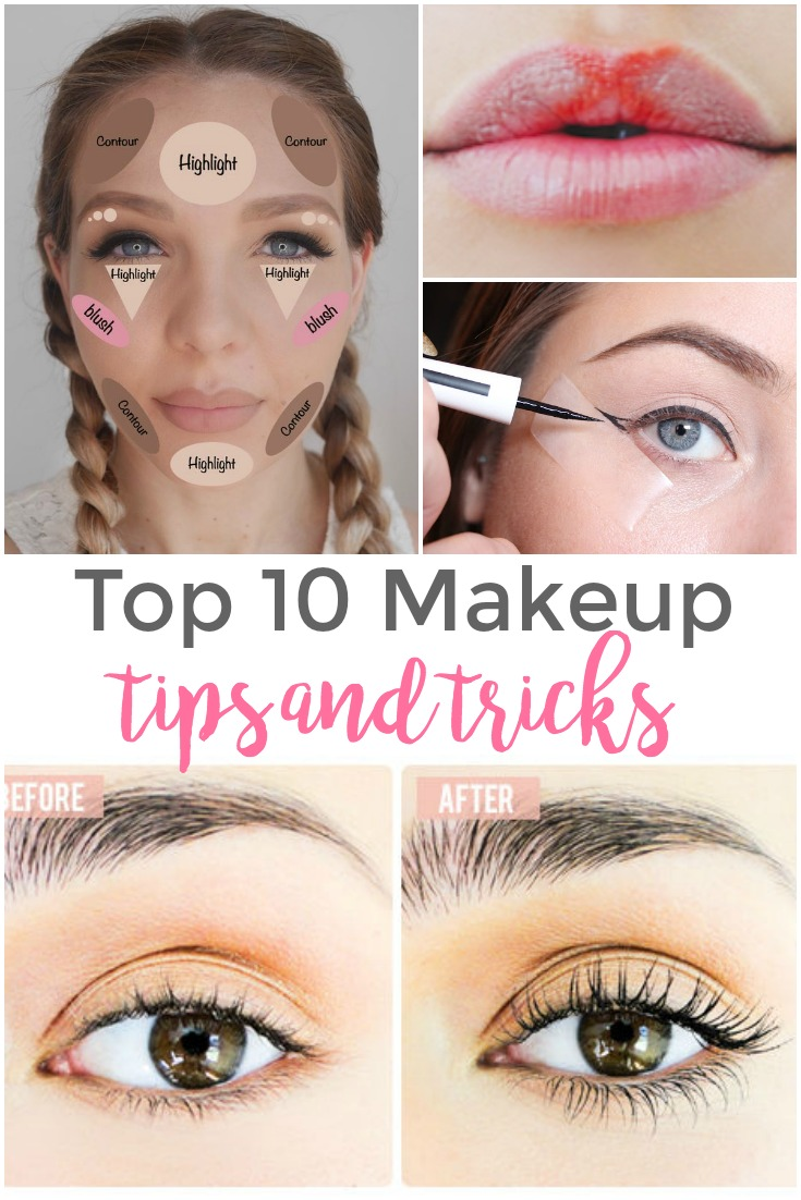 Top 9 Makeup Tips and Tricks - Pinned and Repinned