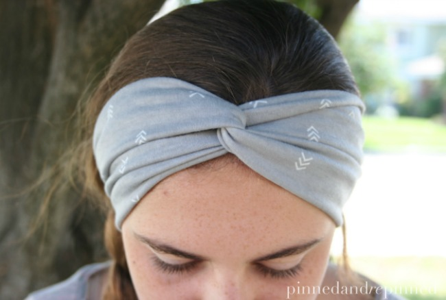 chevron headband
