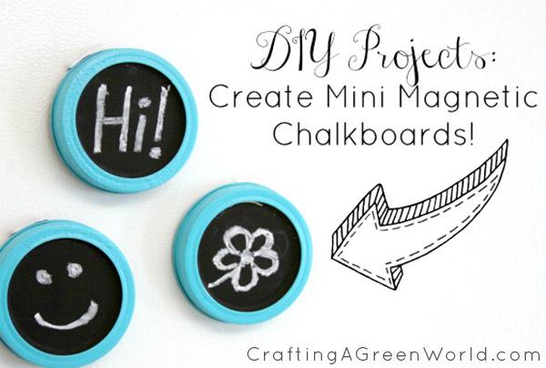 mini magnetic chalkboards