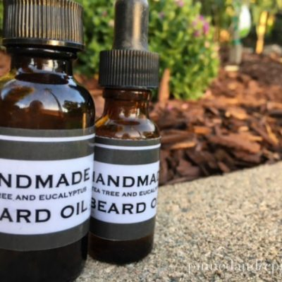 DIY Beard Oil {homemade gift for men}