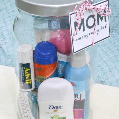 Mom Emergency Kit in a Jar {gift idea}