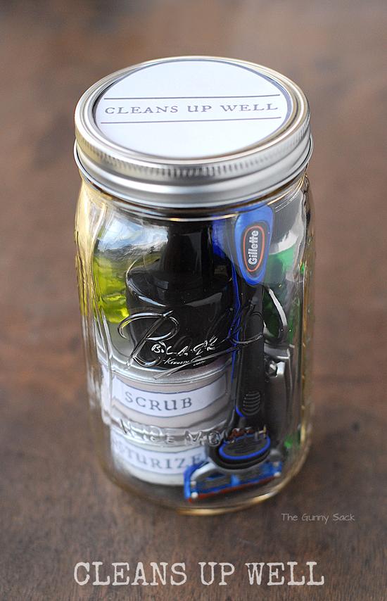 gift in a jar for men