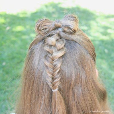 Half-Up Bow Combo Hair Tutorial