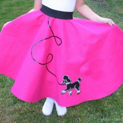 Easy DIY Poodle Skirt