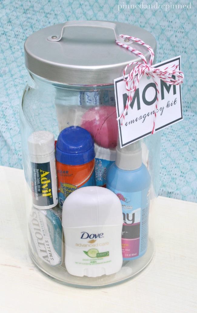 mom emergency kit