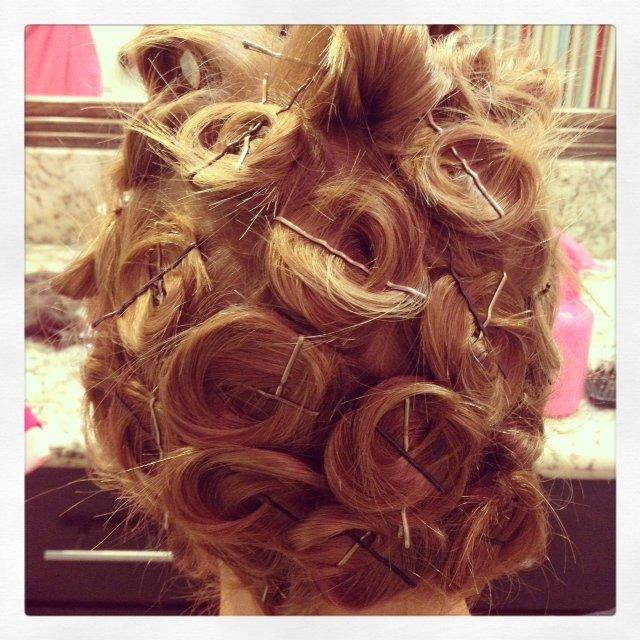 no heat pin curls