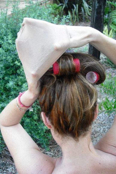 velcro roller curls