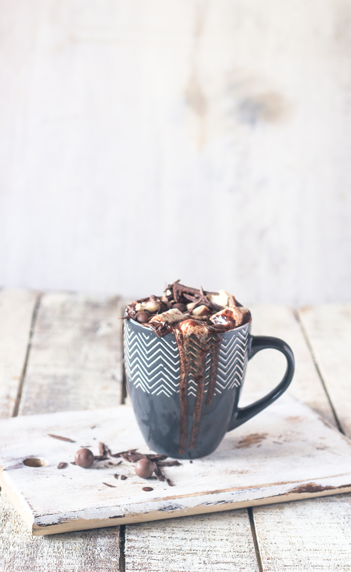 spiced orange mocha hot chocolate