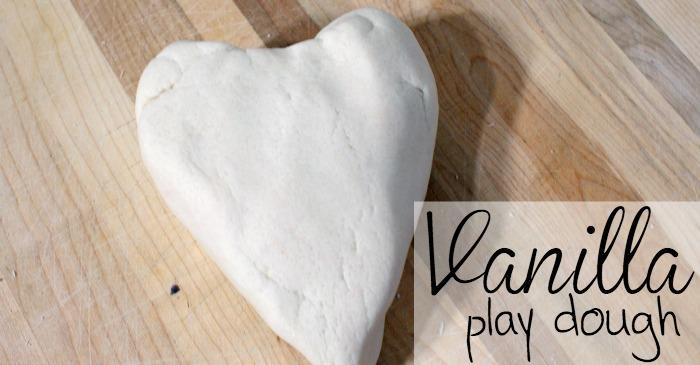 vanilla play dough