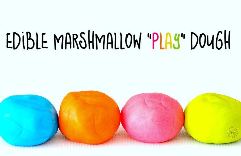 edible marshmallow playdough