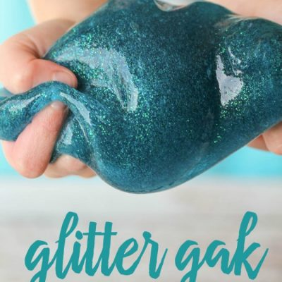 Top 10 Glitter Slime, Gak and Flubber Recipes for Kids