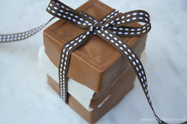 Homemade Gingerbread Soap