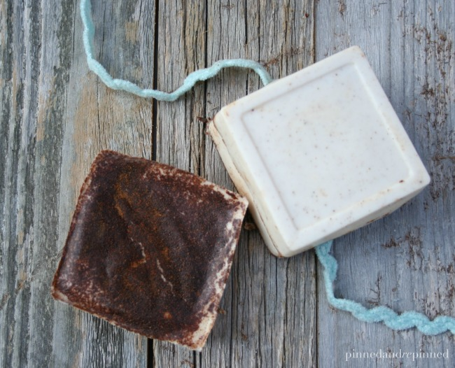 DIY snickerdoodle soap