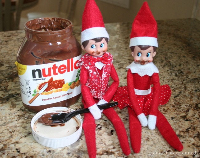elf's in nutella