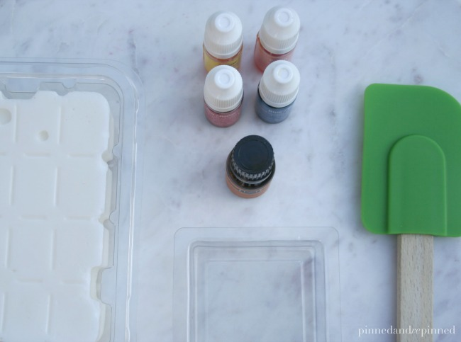 gingerbread soap supplies