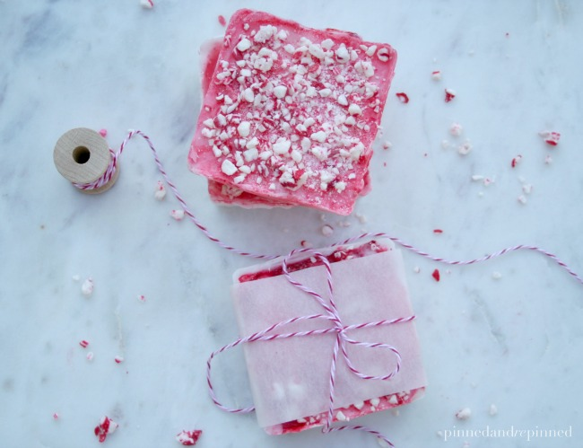 homemade peppermint soap