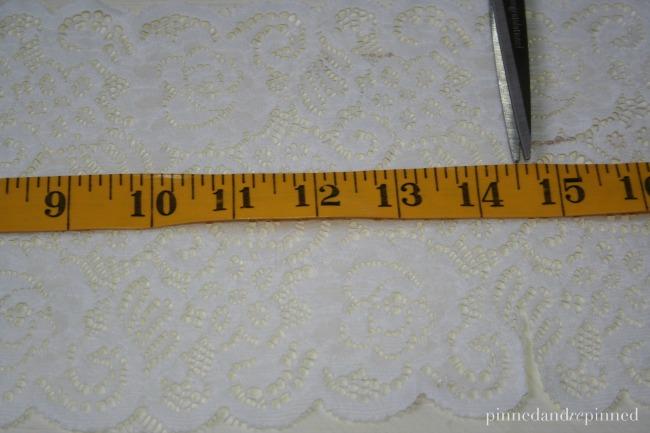 measure lace