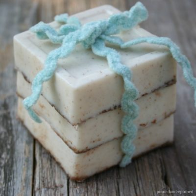 Homemade Snickerdoodle Soap